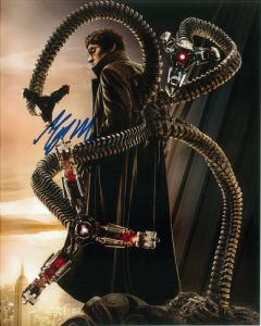 Alredo Molina, Spiderman,  genuine signed autograph 10578